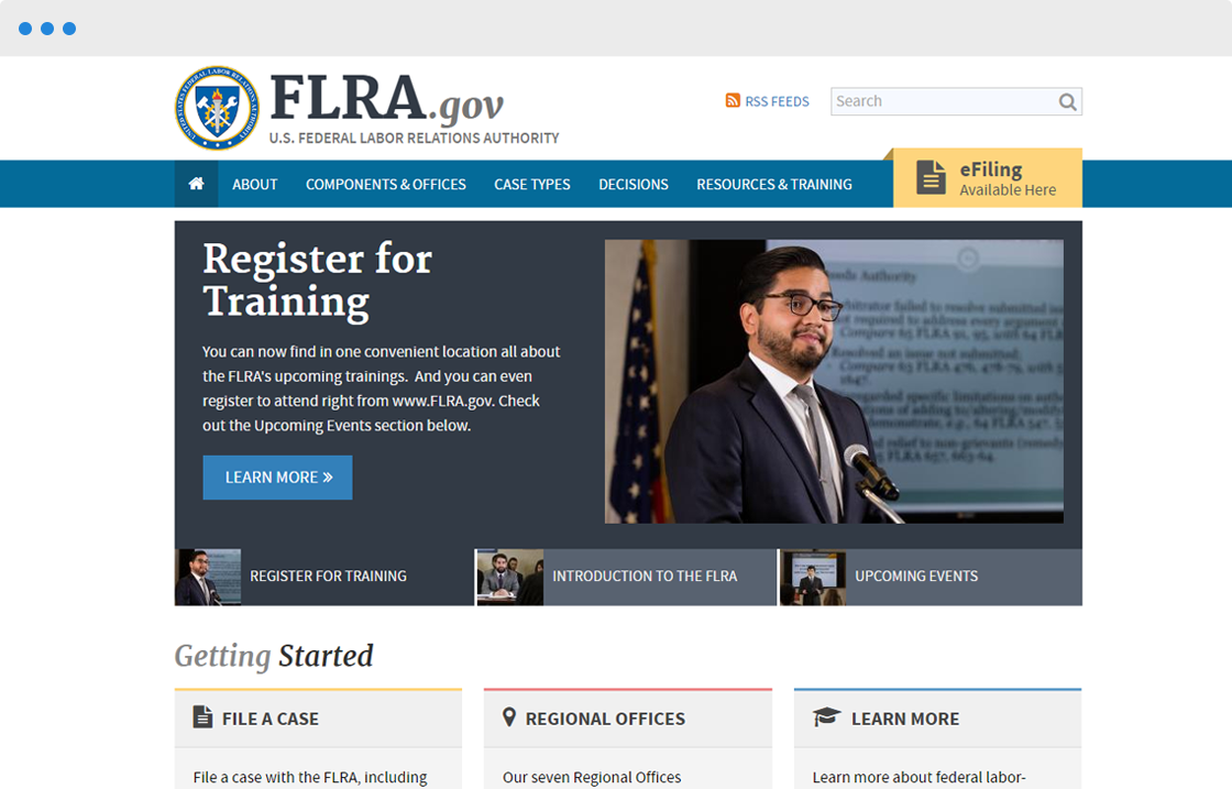 The Federal Labor Relations Authority